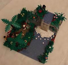Joshua Falls (spud_the_viking) Tags: botbs lego nature waterfall falls redcoats exploration water river discovery corrington