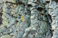 Carved by nature, not by man (Photosuze) Tags: rock sediment newfoundland greenpoint shale limestone geology texture colorful abstract
