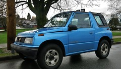 Pontiac Sunrunner (Custom_Cab) Tags: pontiac sunrunner suzuki sidekick asuna canada canadian 4x4 4wd 4 four wheel drive truck suv sport utility vehicle gm blue 1994 1995 1996 1997 1998 tracker geo gmc chevrolet