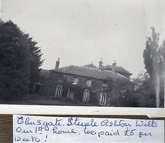Elevate House Steeple Ashton Wiltshire 1960's (Bury Gardener) Tags: blackandwhite bw oldies old snaps scans people folks 1960s england uk wiltshire steepleashton