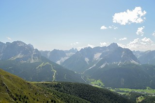 Start of the tour in the Dolomites, close to Sillian