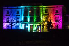 Pride (Maria Eklind) Tags: lights helsingborg drömljus regnbågshus ljus city konsulperssonsvilla åsepersson sweden pride skånelän sverige se
