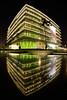 Kaoshiung Public Library 高雄總圖 (Vincent_Ting) Tags: building kaoshiung library reflection night 高雄市立圖書館 高雄總圖 倒影 建築 architecture taiwan