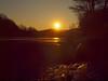 KLIRREND KALT P2252713 (hans 1960) Tags: winter cold kalt frost eis ice nature natur landschaft landscape licht light trees colour farben sun sunrise sonne sonnenaufgang sol soleil zulauf see wasser water golden