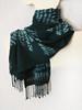 "Heand dyed wool scarf ""Emerald spruce"" (arireven) Tags: whisperofsilk wrap women scarf scarves wool shibori handdyed"