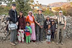 Mount Abu Group Portrait (Paul B Jones) Tags: india mountabu rajasthan people group tourists tourism birders photographers ecotourism canoneosm6 efm1545mmf3563isstm asia asian tourist travel indian indiya inde indien indië villagers friendly smiling
