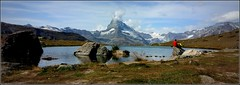 de loin... (Save planet Earth !) Tags: suisse cervin matterhorn travel amcc voyage montagne mountain