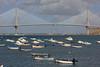 Puente la Pepa (hans pohl) Tags: espagne andalousie cadix ponts bridges architecture atlantique océan boats bâtiments