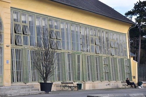 Eisenstadt, Schloss Esterhazy, Orangerie im Schlosspark