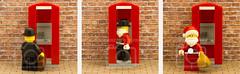 Super Santa (Bond Photography Creations) Tags: santaisnotjustforchristmas santa santaclaus fatherchristmas humour lego minifig toy superman change