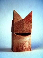 Il Gatto - Daniela Carboni (Rui.Roda) Tags: origami papiroflexia papierfalten cat chat gato il gatto daniela carboni