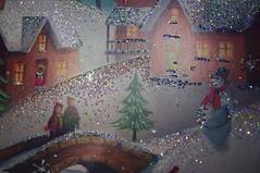 glitter speckled (ladybugdiscovery) Tags: glitter speckled card macro macromonday