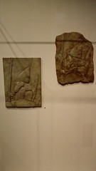 Replicas of a relief of Sennacherib's throne room (michael_s_pictures) Tags: japanesehandiworkrelief sennacherib throneroom troonzaal japans handwerk
