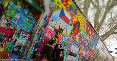 The Lennon Wall (Prague) (Nicolay Abril) Tags: praga praha prag prague prága česko českárepublika républiquetchèque tchéquie repúblicacheca chequia czechrepublic czechia csehország csehköztársaság tschechien tschechischerepublik