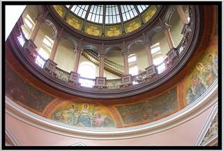 Kansas State Capitol ~ Topeka Kansas ~ Interior  Dome ~  Historic State House