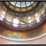Kansas State Capitol ~ Topeka Kansas ~ Interior  Dome ~  Historic State House thumbnail
