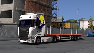 Scania S730 + Faymonville MAX Trailer 200