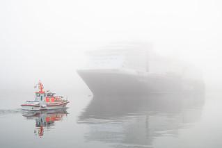 Ein Treffen im Kieler Hafen