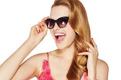 RM1706_11453 Smile Pop (nuskinamericas) Tags: smilepop ap24 lipgloss visor stripes tanktop sunglasses blue pink dress sparkly bracelet