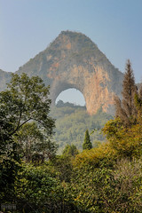 Moon Hill (Aperturesmith) Tags: china yangshuo travels countryside karstmountains karst cycling explore