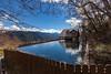 台灣雪山登山口 (鹽味九K) Tags: 雪山登山口 武陵農場 wulingfarm 倒影 sky 藍天 canon