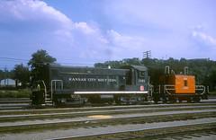 KCS Baldwin S12 1161 (Chuck Zeiler) Tags: kcs railway baldwin s12 1161 railroad locomotive kansascity kansas train chuckzeiler chz