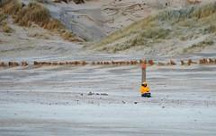 Desolate (peeteninge) Tags: desolate desolaat beach sand wind dunes strand duinen yellow geel