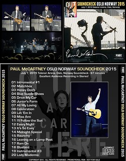 Paul McCartney Oslo Norway Soundcheck