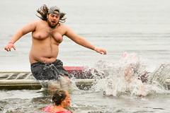 Polar Bear Jump 2018 (Steve Brezger Photography) Tags: charities cold divers fundraiser jumpers lake outdoor plunge polardip portagelake splash water