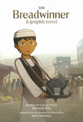 The Breadwinner:  a Graphic Novel (Vernon Barford School Library) Tags: deborahellis deborah ellis noratwomey nora twomey breadwinner adaptations parvana afghanistan familylife friendship sexrole sexroles genderrole genderroles women girls graphic novel novels graphicnovel graphicnovels vernon barford library libraries new recent book books read reading reads junior high middle vernonbarford fiction fictional paperback paperbacks softcover softcovers covers cover bookcover bookcovers 9781773061184