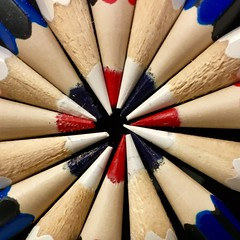 Macro Monday less than an inch (peterbaird100) Tags: circle pencils lessthananinch macromonday