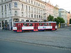 Olomouc tram No. 168 (johnzebedee) Tags: transport tram publictransport vehicle olomouc czechrepublic johnzebedee