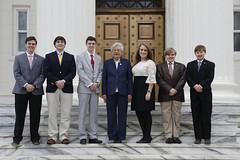 Photo Op w- Legislative Pages   15