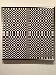 1-1 Delirious Art at Met Breuer (MsSusanB) Tags: edna andrade geometric painting opart met metmuseum metbreuer delirious reason art exhibition nyc