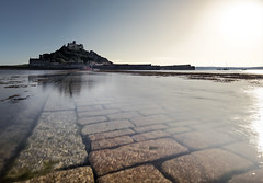 St. Michael's Mount (Grant Morris) Tags: stmichaelsmount cornwall england longexposure bluesky waterscape waterfront water seaside seascape castle cobbles grantmorris grantmorrisphotography canon
