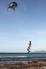 East Wind (waielbi) Tags: almanarre kitebeach kite kiteboarding kitesurf kitesurfing kitesurfer kiteboarder jump hyères kitespot