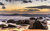 Sunrise Seascape with Big Surf (Merrillie) Tags: daybreak sunrise centralcoast cloudy australia morning surf sea waves landscape newsouthwales rocks earlymorning nsw killcarebeach beach ocean waterscape clouds water coastal nature outdoors seascape dawn coast killcare sky