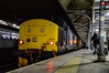 37425 + 37407 - Norwich - 23/02/18. (TRphotography04) Tags: direct rail services drs 37425 sir robert mcalpine concrete bob newly refurbished br large logo 37407 stand norwich after working 2p33 1817 great yarmouth