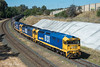 Albury Arrival (Henry's Railway Gallery) Tags: 8131 8183 8132 81class emd diesel clyde pn pacificnational 3cm6 cm6 graintrain freighttrain albury