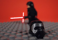 Kylo Ren (-Metarix-) Tags: lego star wars minifig kylo ren last jedi force awakens ben solo darth vader sith helmet lightsaber knights