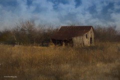 Impressionistic Art (Kool Cats Photography over 9 Million Views) Tags: painting barn artistic art impressionistic oklahoma sky clouds