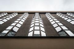 Feniks (Maciej Dusiciel) Tags: architecture artdeco city windows building urban kraków krakow cracow poland europe sony alpha samyang travel symmetry geometric window vanishing world day