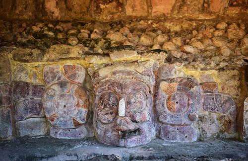 Plaster reliefs