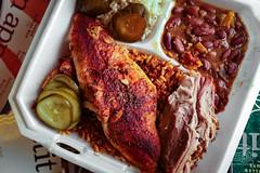 Cajun Catfish Platter - Woodburn Shanks BBQ (sheryip) Tags: woodburn shanks bbq food foodporn morgantown wv wvu sher yip cajun catfish pulled pork
