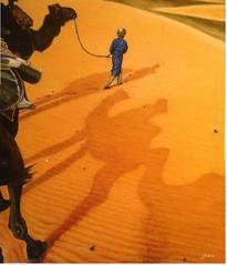 El paseo. Óleo (Juanmces) Tags: juanmcesworpresscom elpaseo pintura óleo desierto camellos