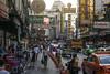 chaos? in bangkok (cih94) Tags: china town bangkok city chaos evening traffic street food thailand