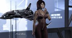 K.B Starship & SciFi (Karole Batista) Tags: karole batista maitreya insilico secondlife scifi cyber women red hair bad starship starcitizen