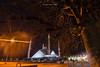 In the cold winter nights of Islamabad. (High Blue) Tags: islamabad faisalmasjid theiconofislamabad masjidsofpakistan masjid pakistan pakistanphotographers visitpakistan pakistantravelplaces risingpakistan pakistantourismguide