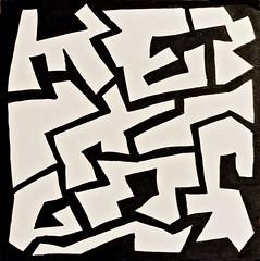 (Abstrakt 777) Tags: art drawing blackandwhite blackandwhiteart ink inkdrawing doodle streetart urbanart abstract abstractart