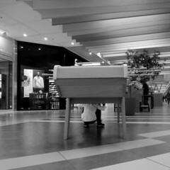 Hidden (Alain Rempfer) Tags: centrecommercial shoppingcenter magasin shop streetphotography candidphotography candidportrait candidsnapshot emotion photoderue publicspace espacepublic scenederue scenedevie scenefromthestreet urban portraiture viequotidienne dailylife photographienonposée unposedphotography panasonicdmcsz10